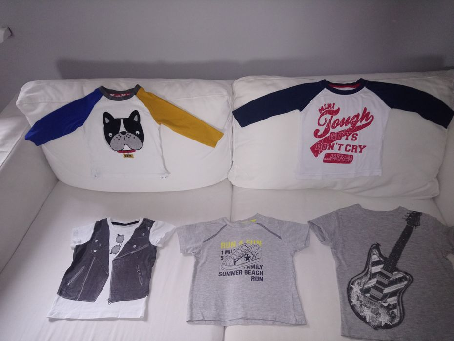 11 sztuk: Bluzki Koszulki dla chłopca głównie 74 cm Kwidzyn - image 1