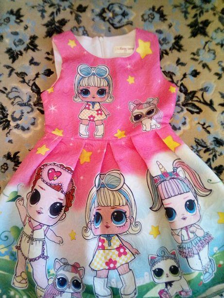 Платье с Лол 110 размер