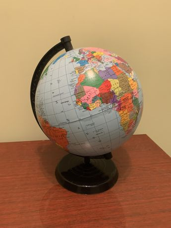Глобус, диаметр 220, для школы
