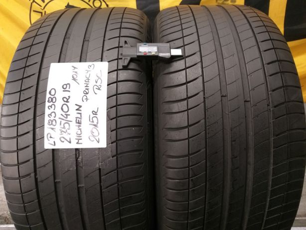 LP183380 para 275/40R19 101Y Michelin Primacy3 RSC 2015r.