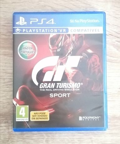 Jogo Gran Turismo Sport PS4