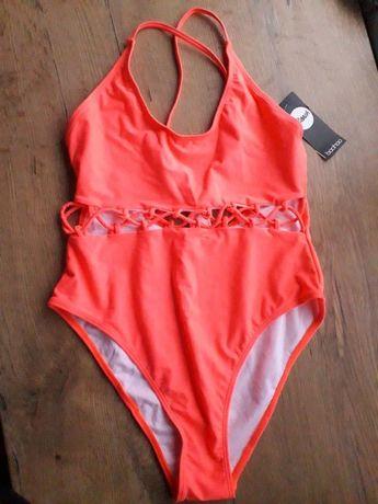 Nowy neonowy strój kąpielowy Boohoo roz. M