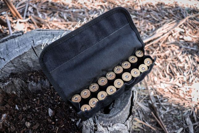 Bolsa de Cintura/Cinto para 18 Cartuchos de Caça|NOVA