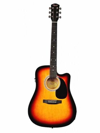Gitara elektroakustyczna Fender Squier SA-105 CE Sunburst