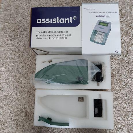Автоматичний детектор валют assistant 450