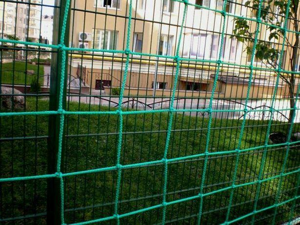 Сетка оградительная разделительная для спортзала и стадиона