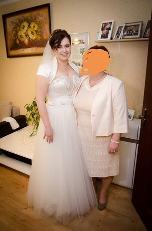 Suknia ślubna! Okazja! Dodatki gratis!