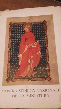 """Livro """"Mostra storica nazionale della miniatura"""""""