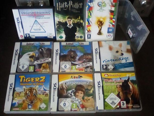 Nintendo DS Playstation PSP zestaw gier