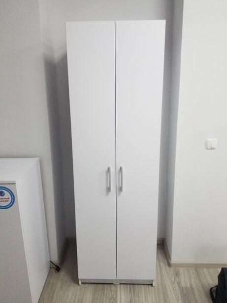 Шкаф офисный с полками, белый
