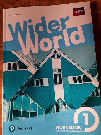 Wider World 1, workbook. Новий, оригінал