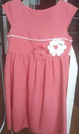 Śliczna letnia sukienka r.122 Viwa