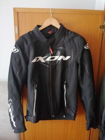 Casaco motard IXON com forro