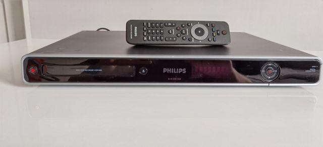 Nagrywarka DVD 160GB PHILIPS HDR3800 +Pilot