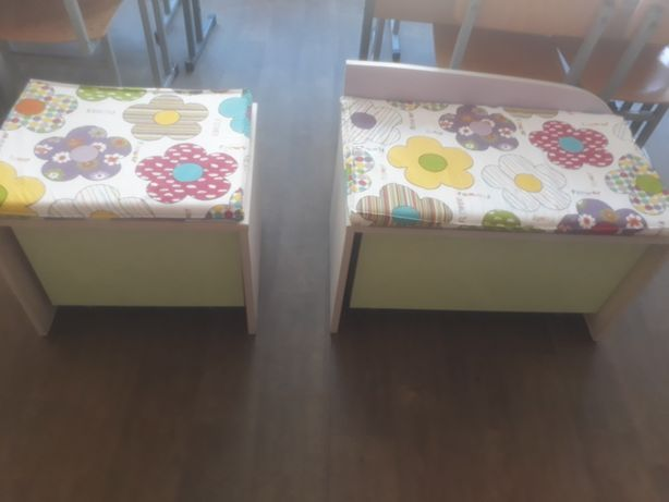 Детские тумбочки с подушками