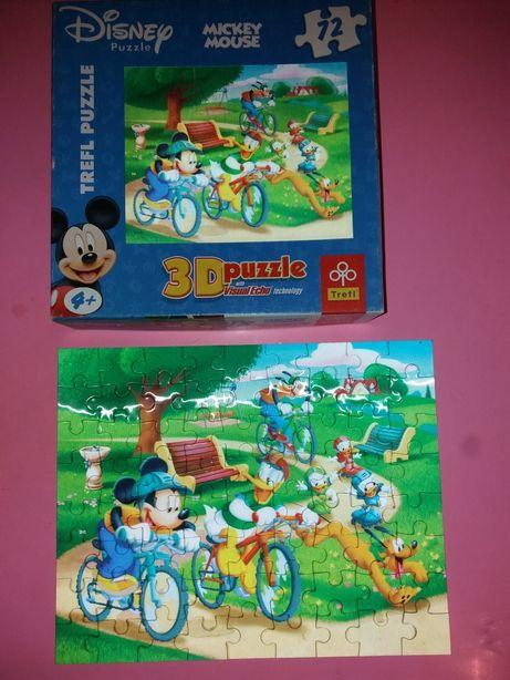 Пазлы Disney 3D Микки Маус -72 шт.