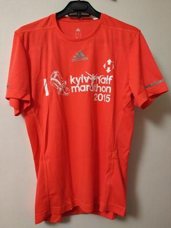 футболка Adidas спортивная майка для бега