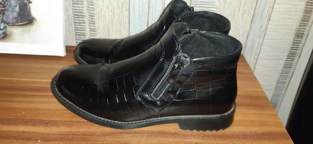 Демисезонные ботинки для мальчика 33размер