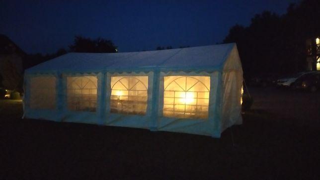 Wynajem namiotu 5x8, stołów,grilla