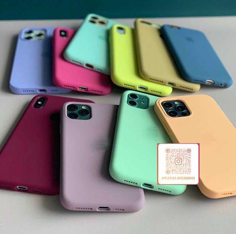 Чехол Silicone Case iPhone Xr Силиконовый Айфон Хр с закрытым низом
