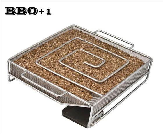 Генератор дыма холодное копчение улитка змейка гриля Weber BBQ барбекю