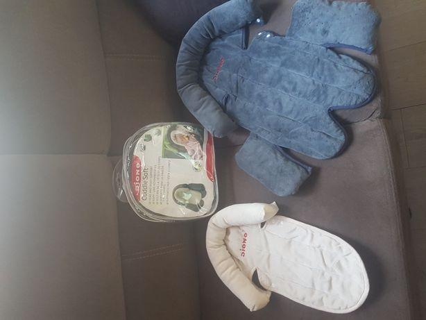 Wkladka dla niemowlat,dzieci do wozkow fotelikow latwy montaz