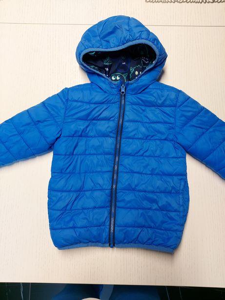 Двусторонняя куртка пуховик демисезон George 3-4