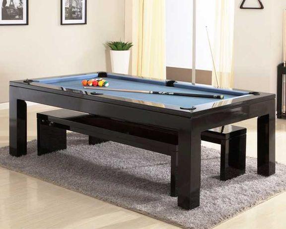 Bilhar Snooker Queen com Tampo jantar - Bilhares Capital