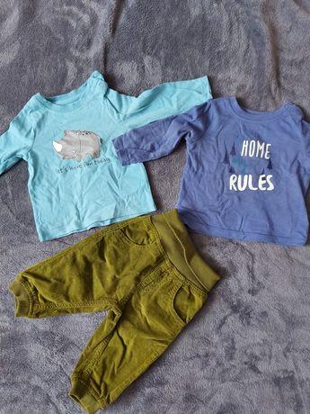 Одяг для хлопчика, кофточки і штанішки 3-6 місяців