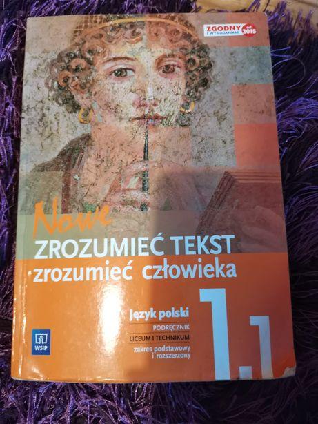 Zrozumieć tekst, zrozumieć człowieka klasa 1 część 1 polski