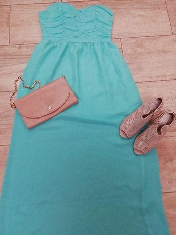 Продам шифоновое красивезное платье в пол