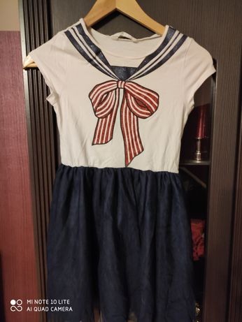 Śliczna sukienka tiul