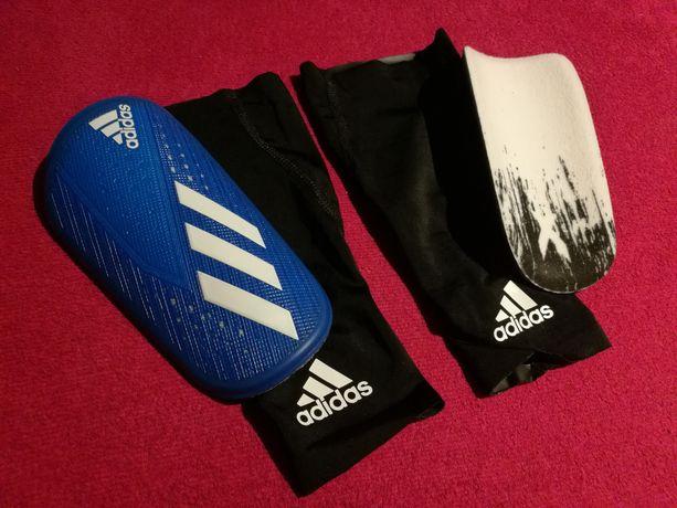 Ochraniacze piłkarskie na piszczele adidas rozmiar S
