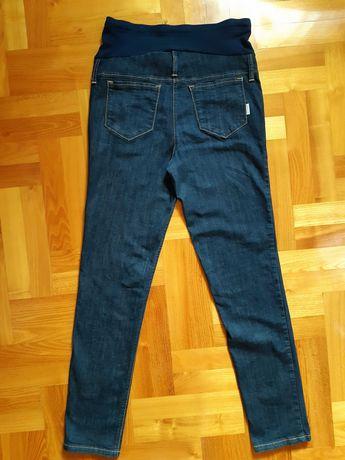 Spodnie jeansy ciążowe, 42