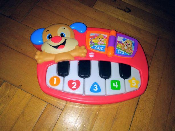 Pianino Fischer Price szczeniaczka uczniaczka