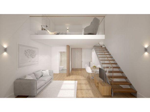 Apartamento T1 com Terraço para Venda em Vila Nova de Gai...