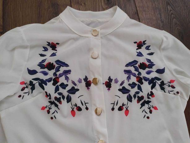 Elegancka bluzka koszula damska