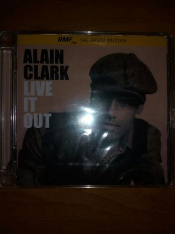 Nowa płyta Alain Clark ,,LIVE IT OUT""