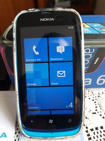 NOKIA 610 lumia MEGA zadbana wpełnisprawna