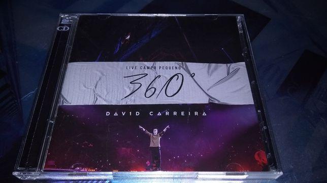 CD+DVD•David Carreira- 360°-Ao vivo Campo Pequeno