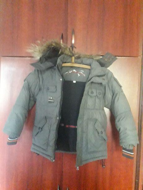 Куртка парка зимова 146 р