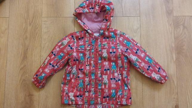 Zajączki kurtka dla dziewczynki jesienna przejściowa 98 104