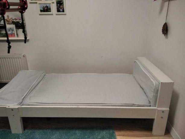Łóżko rosnące Ikea plus sprężynowy materac