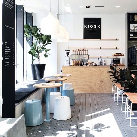 Кофейня, пекарня. Современные идеи