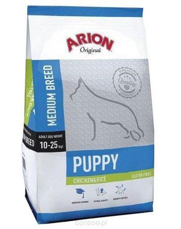 Arion Original Puppy Medium Chicken&Rice 12kg karma dla szczeniąt