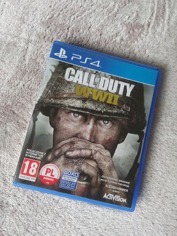 Call of Duty WWII PL gra ps4 PlayStation 4 sprzedam lub zamienie