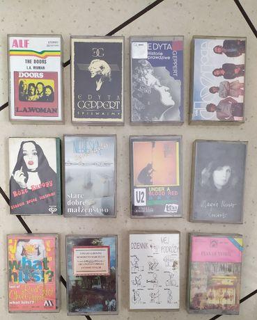 kasety magnetofonowe O.N.A,U2,Pink Floyd,Edyta Geperd,GUNS N ROSES