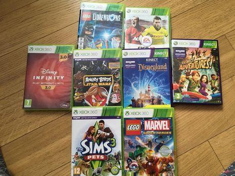 Zestaw 6 gier Xbox 360