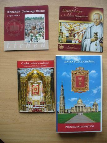 Matka Boska Licheńska Poświęcenie Świątyni kaseta VHS +2 DVD