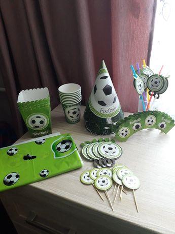 Атрибутика на день рождения футбол